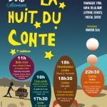 Nuit du conte décembre 2016 Montpellier Celleneuve