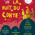 Nuit du conte 2018 - Quartier Celleneuve - Montpellier