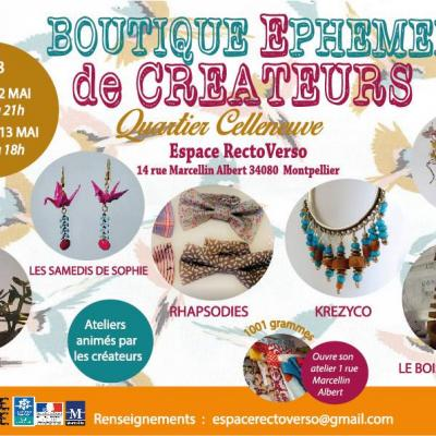 Boutique céateurs celleneuve montpellier