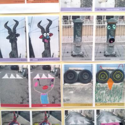 La grande lessive 2017 - Quartier Celleneuve Montpellier