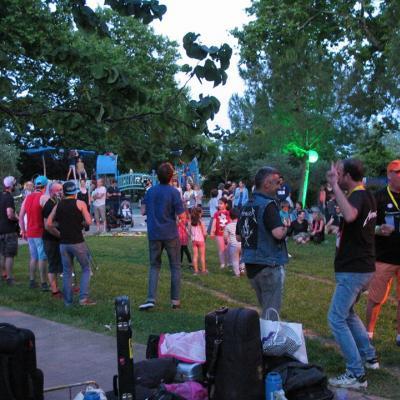 Festival fanfares 2018 Montpellier Celleneuve ODETTE LOUISE